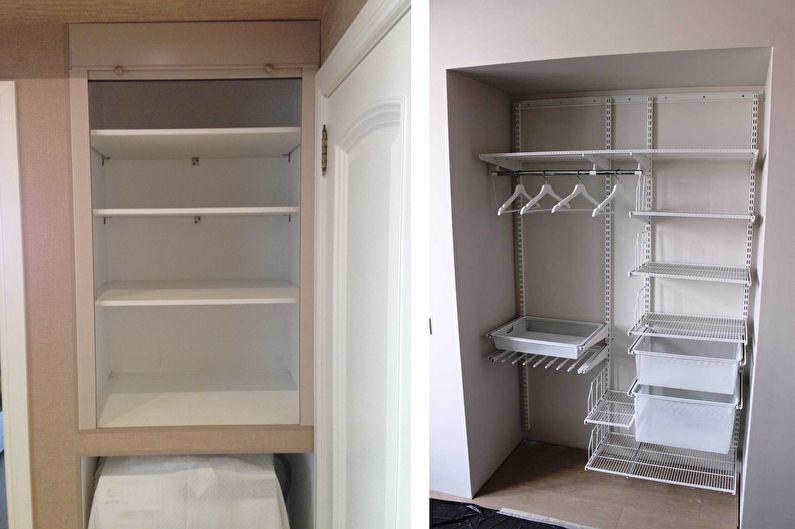 Встроенный шкаф своими руками 53