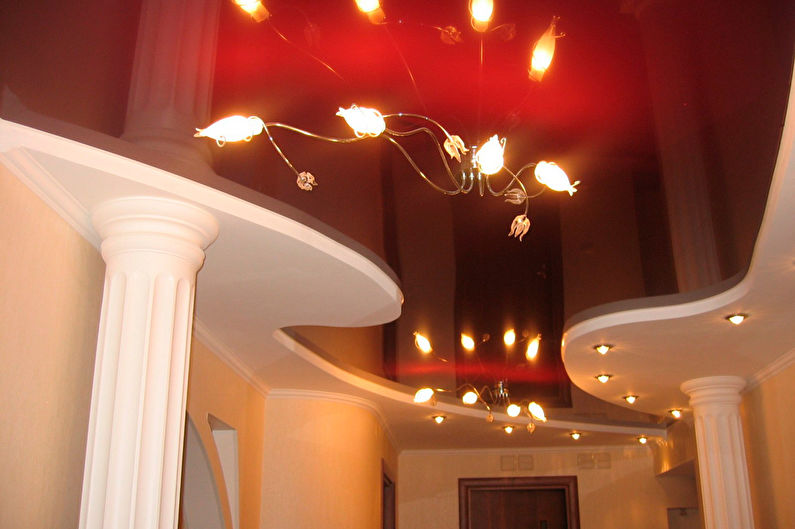 Подвесной потолок в прихожей / коридоре - фото