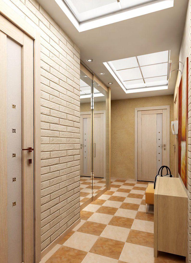Потолок в коридор в квартире дизайн