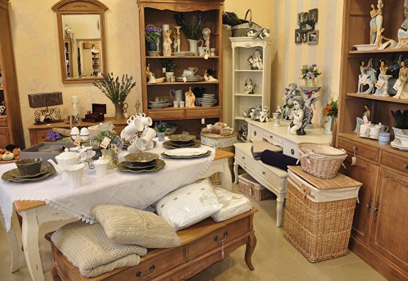 Прованс в интерьере - Текстиль и декор