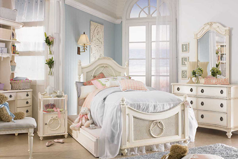 Детская комната в стиле прованс - Дизайн интерьера