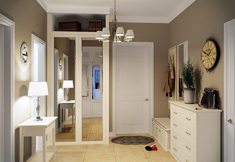 Прихожая и коридор в стиле прованс - Дизайн интерьера