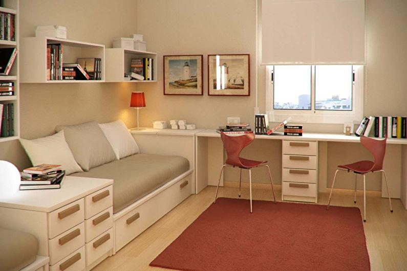 Дизайн детской комнаты для девочки-подростка