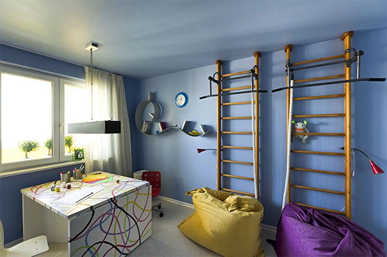 Комната для девочки-подростка в стиле хай-тек - Дизайн интерьера