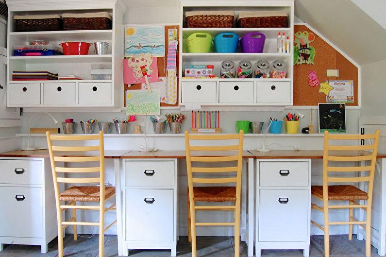 Дизайн комнаты для девочки-подростка - фото