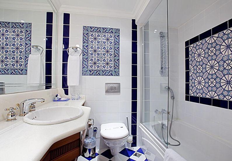 Дизайн интерьера ванной комнаты 4 кв.м. - фото