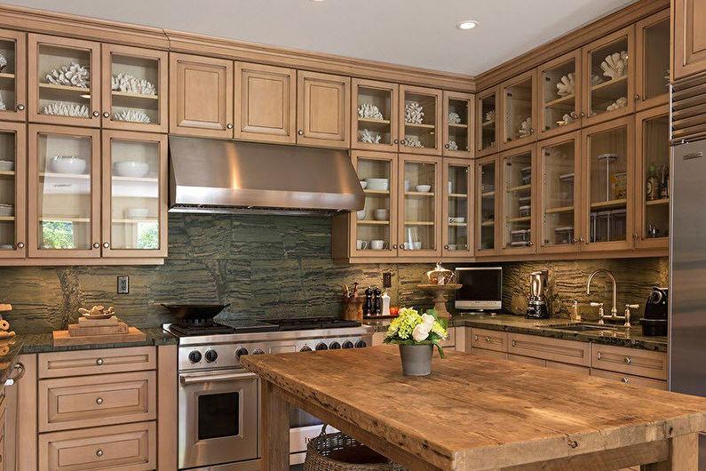 Кухня Икеа в классическом стиле - Дизайн интерьера
