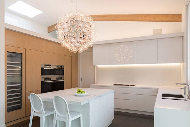 Кухня Икеа в стиле минимализм - Дизайн интерьера