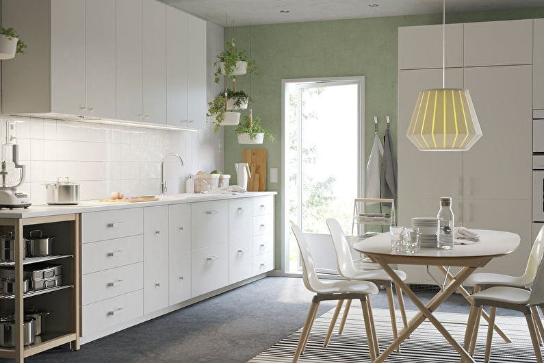 Кухня Икеа в скандинавском стиле - Дизайн интерьера