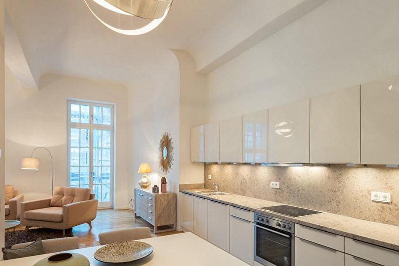Белые кухни Икеа - Дизайн интерьера