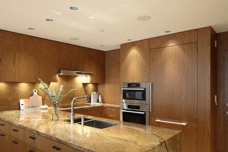 Деревянные кухни Икеа - Дизайн интерьера