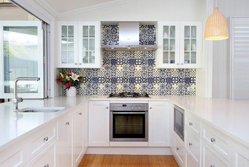 П-образная кухня Икеа - Дизайн интерьера