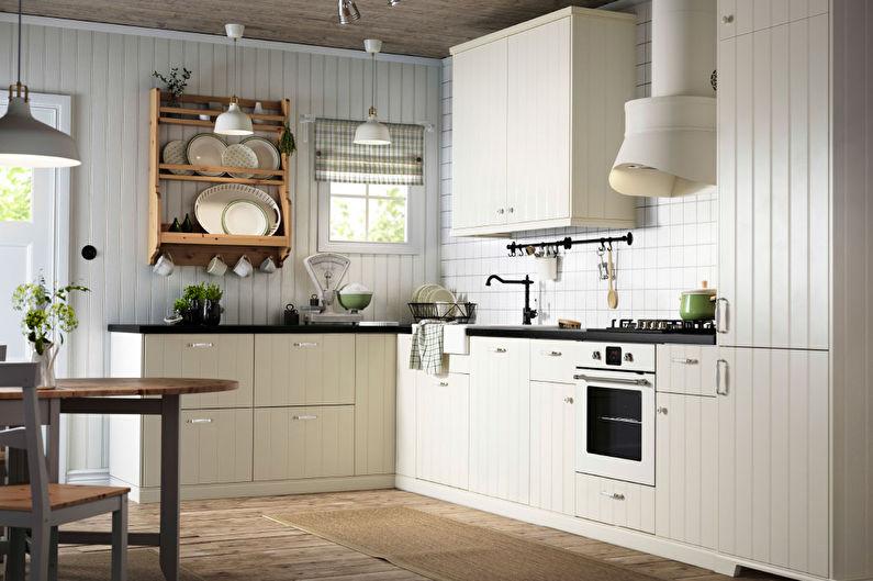 Угловая кухня Икеа - Дизайн интерьера