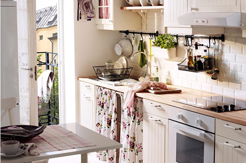 Маленькие кухни Икеа - Дизайн интерьера