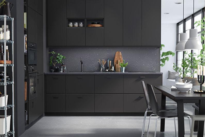 Дизайн интерьера кухни Икеа - фото