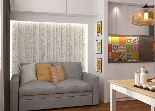Дизайн-проект квартиры «Взрыв цвета»