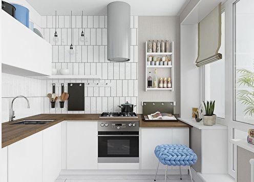 Шторы для кухни: 70 фото-идей