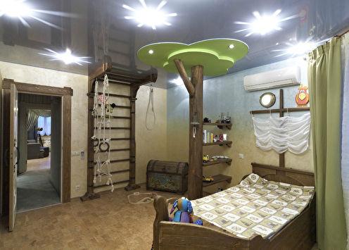 «Комната пирата»: Дизайн детской