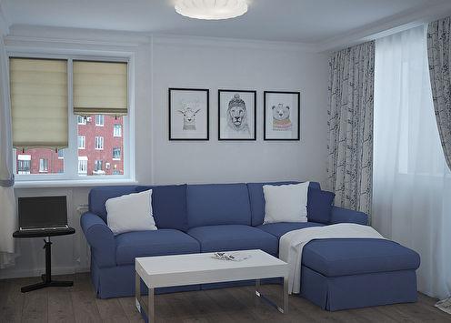 «Белоснежный ларец»: Квартира 30 кв.м.