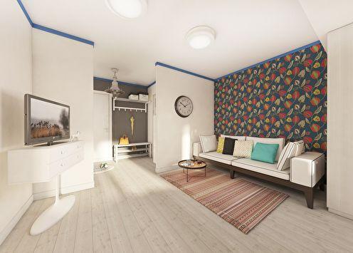 Квартира «Времена года», 45 м2