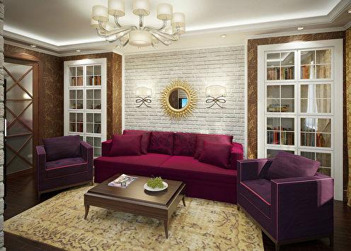 Дизайн-проект квартиры 80 м2