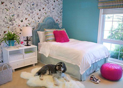 Дизайн комнаты для девочки-подростка (65 фото)