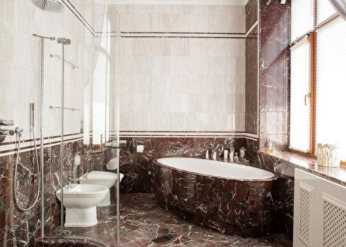 Ванная комната «Интеллигентная классика»