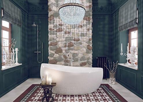 Дизайн ванной комнаты, 14 кв.м.