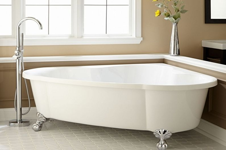 Угловые ванны - Формы