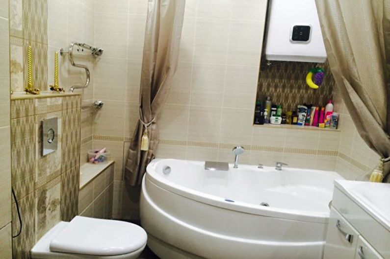 Угловые ванны - фото