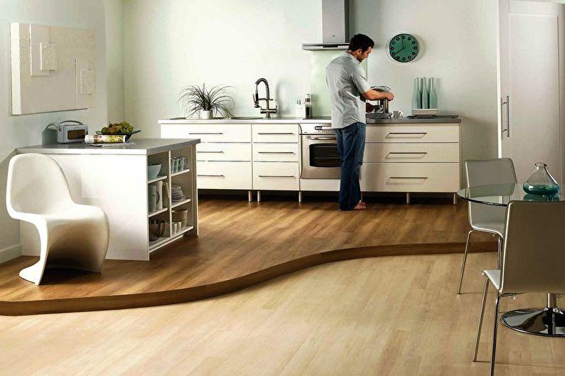 Зонирование комнаты - Кухня и столовая
