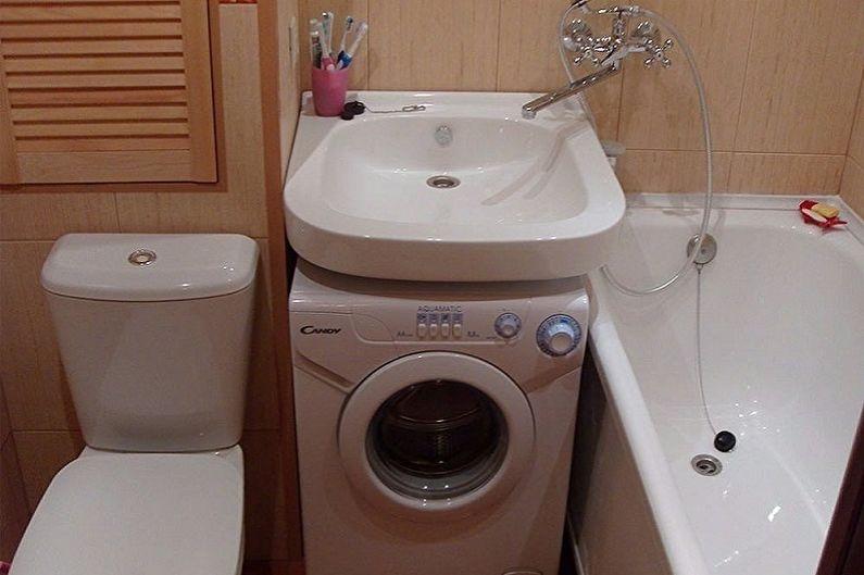 Раковина над стиральной машиной - Преимущества и особенности