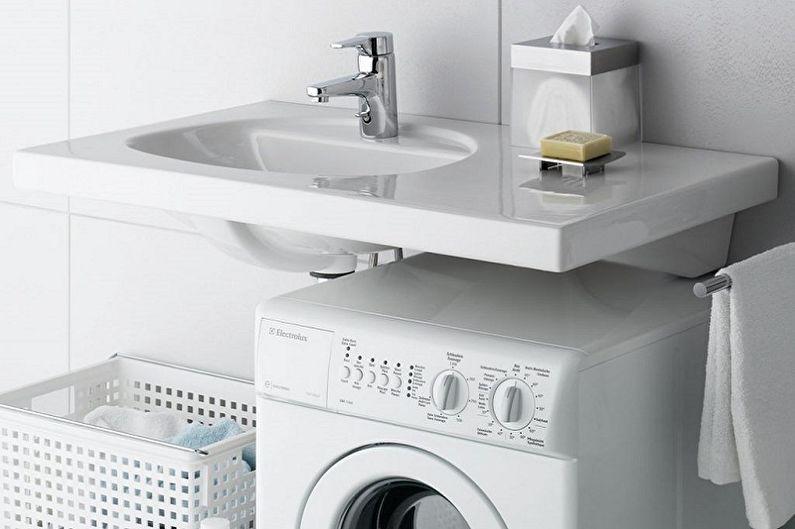Раковина над стиральной машиной - Материалы