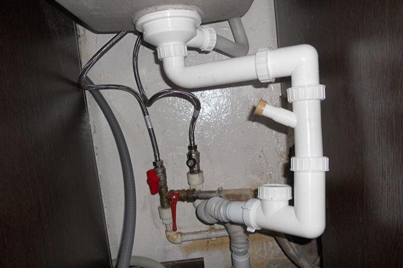 Раковина над стиральной машиной - Безопасность