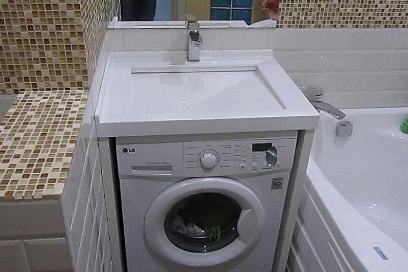 Раковина над стиральной машиной - Как выбрать стиральную машинку