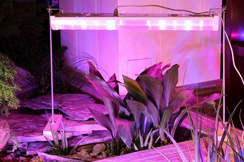 Металлогалогенная лампа для растений