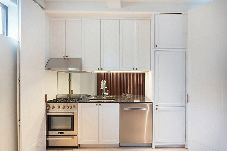 Кухонный гарнитур для маленькой кухни - Однорядная планировка
