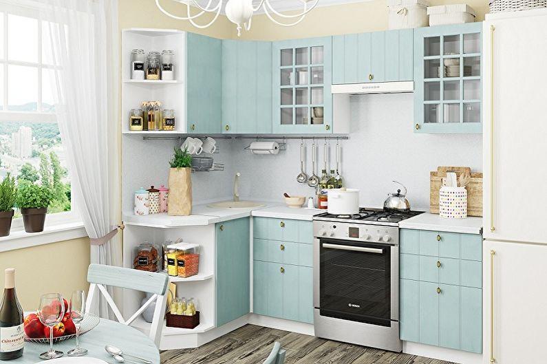 Кухонный гарнитур для маленькой кухни - Выбор фасада