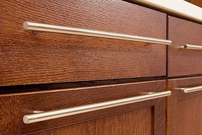 Рейлинговые ручки для кухонной мебели