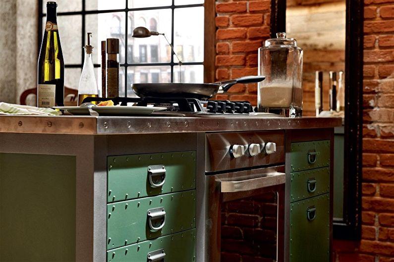 Ручки для кухонной мебели - фото