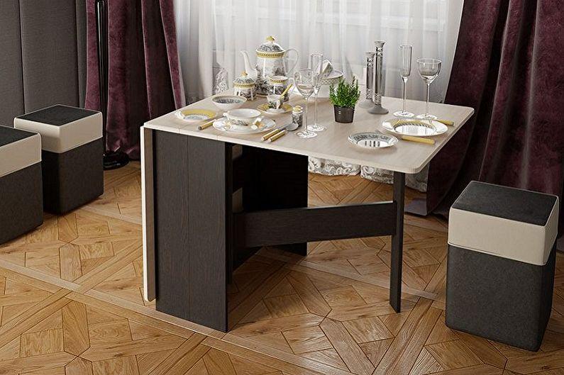 Обеденные столы - Главные особенности