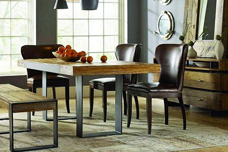 Квадратный обеденный стол