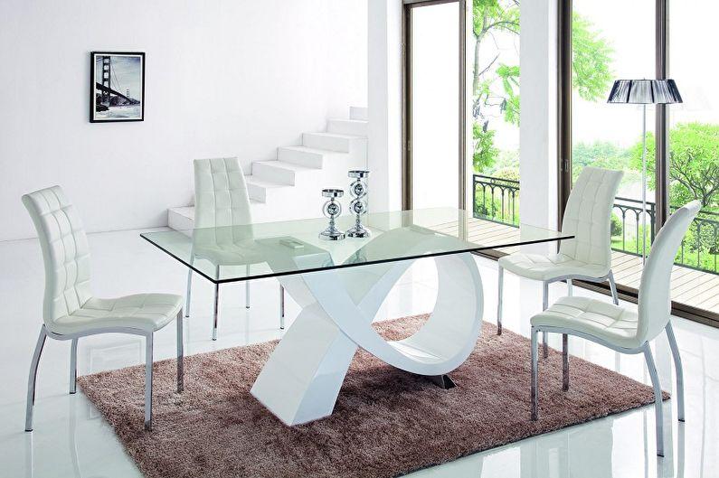 Обеденные столы - Материал для стола