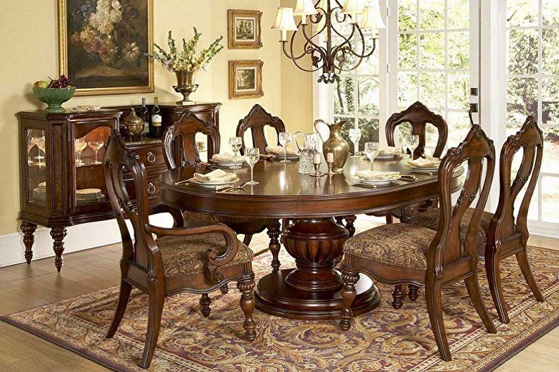 Обеденные столы - фото