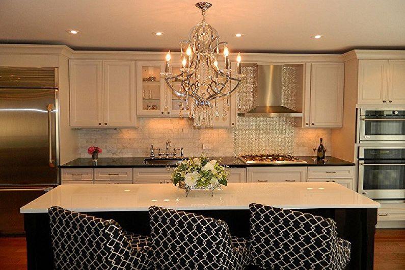 Классические люстры для кухни