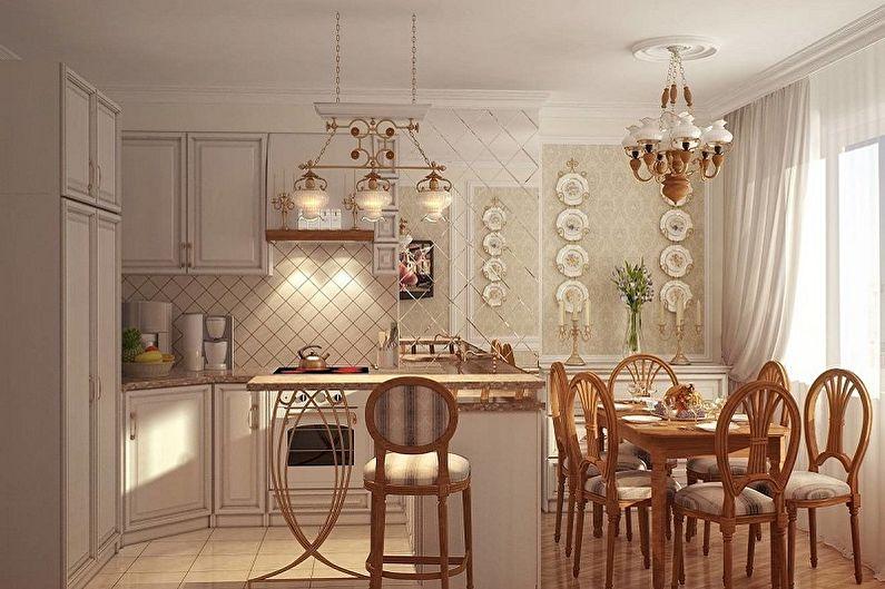Люстра для кухни в стиле прованс