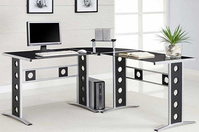 компьютерный стол 80 фото самых модных столов интерьере Design History