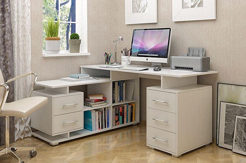Как выбрать угловой компьютерный стол