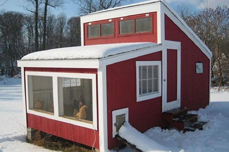 что-то домик курица для зима и лето фото первый цикла