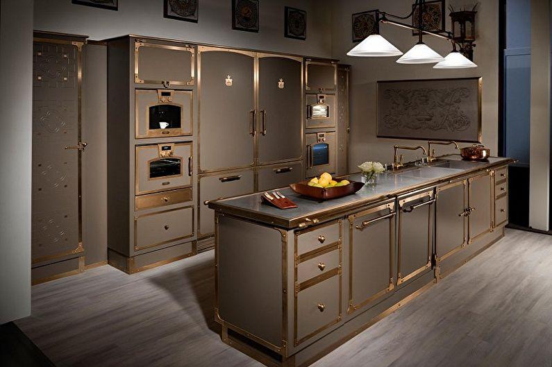Ручки для кухонной мебели (80 фото): виды, какие купить